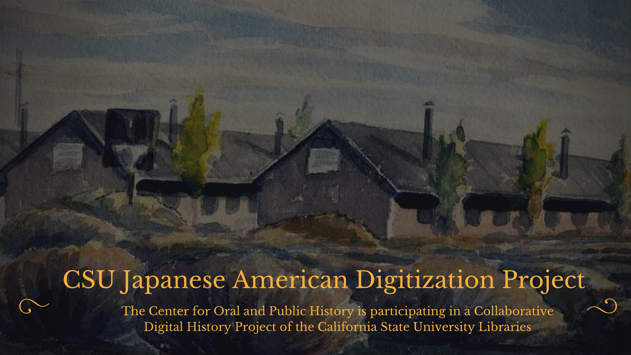 Painting of Japanese Internment Camp
