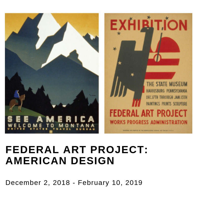 Two Federal Art Project posters