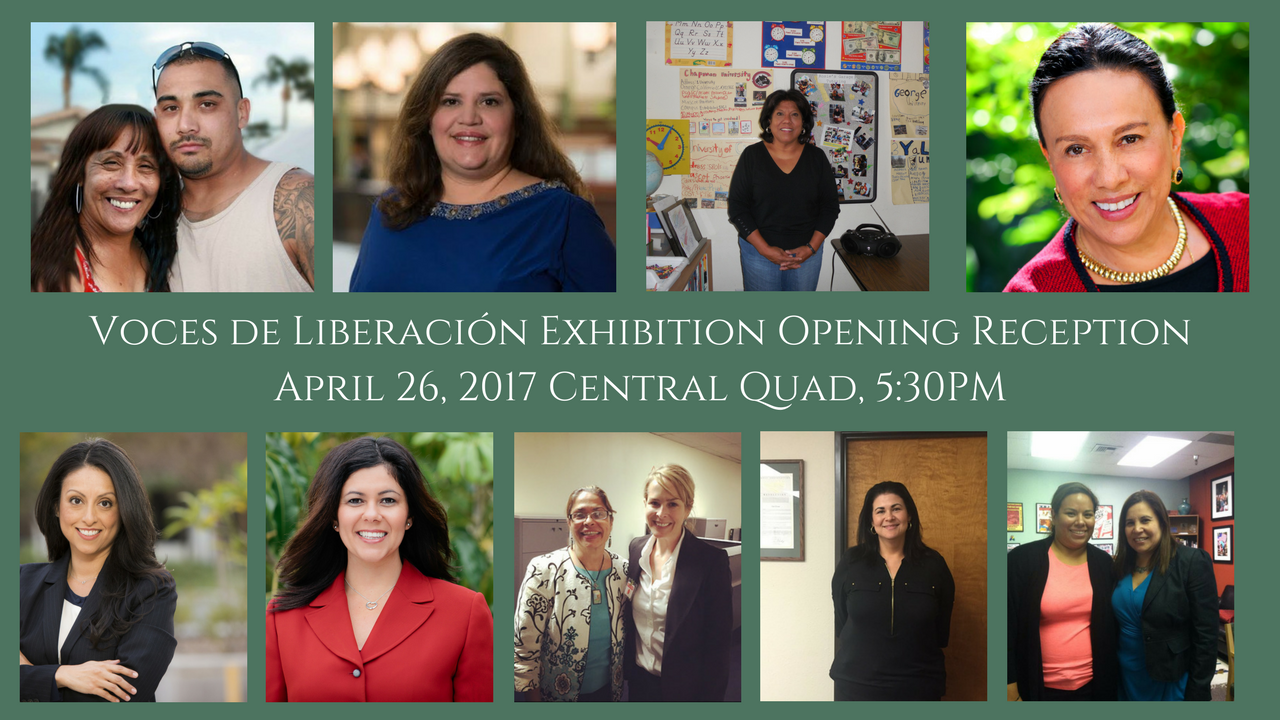 Nine Latina women being honored for exhibit